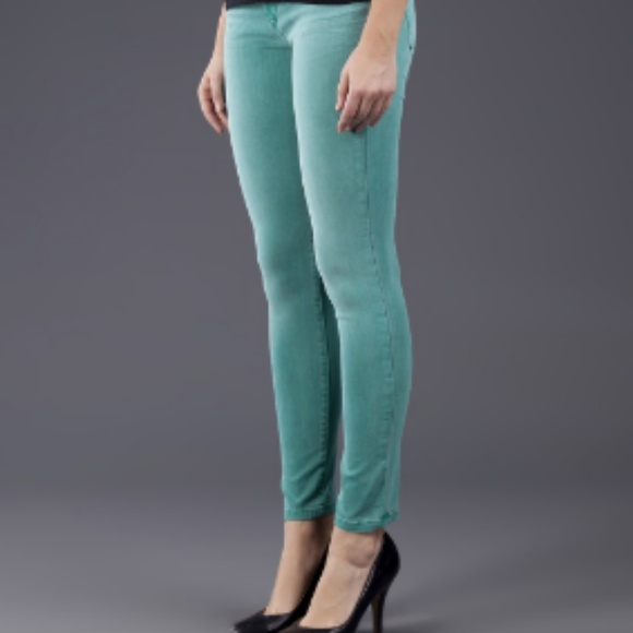 Joe's Jeans Denim - $198~Joe's Jeans~Colored Aqua Skinny Jeans~27